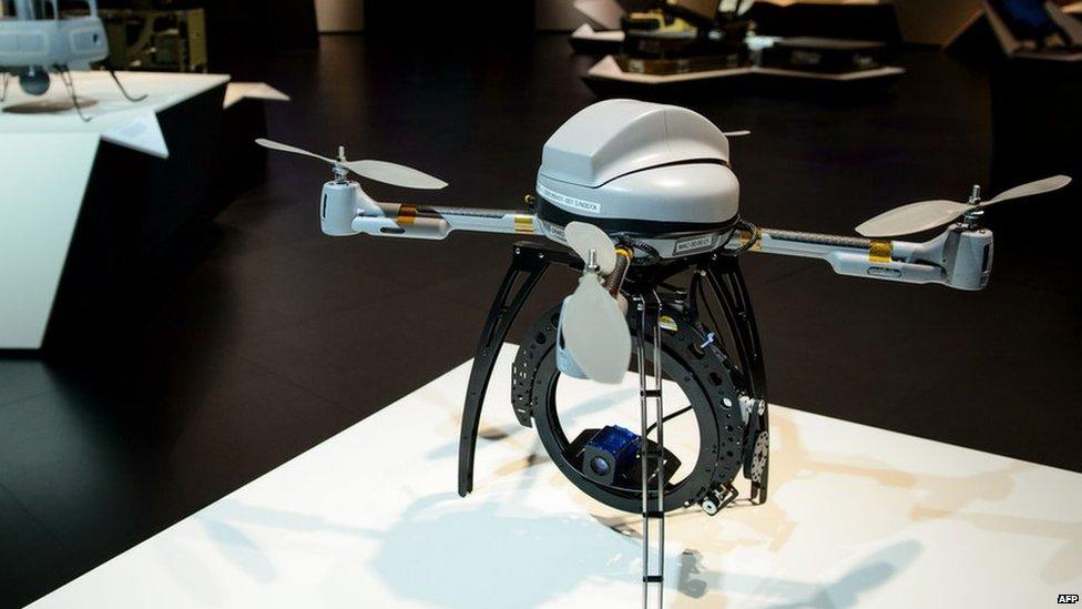 Drako micro UAS (unmanned aerial system)